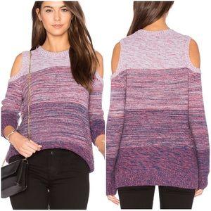 Rebecca Minkoff Wool Blend Cold Shoulder Sweater